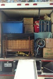Packed Truck